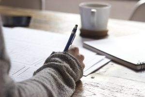 Atelier d'écriture du 13 novembre 2018